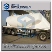 36 M3 Citerne Transport Ciment 3 essieux Bulk Tanker Trailer