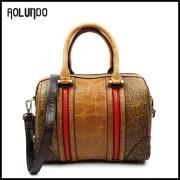 2016 new model lady popular handbag genuine leather ladies handbags
