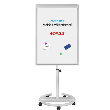40x28 Inches Mobile Dry Eraser Magnetic Board