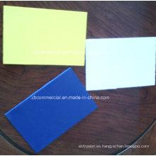 Impresión de publicidad Junta de espuma de PVC / Hoja de Forex (alta densidad)