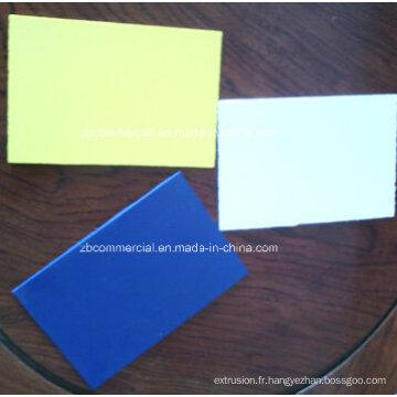 Panneau de mousse de PVC de publicité d'impression / feuille de forex (à haute densité)