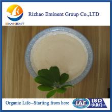 Fertilizante orgânico de aminoácidos quelados com manganês
