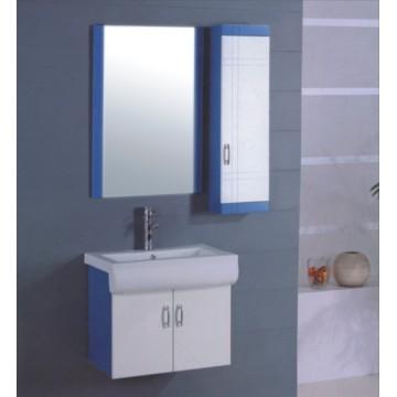 Móveis de gabinete de banheiro de PVC de 65cm (B-503)