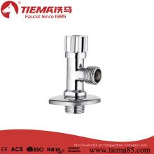 Válvula de ângulo tradicional do punho do zinco do corpo de bronze (ZS1043)