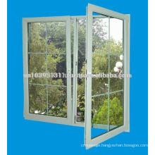 BS EN 12608 standard High fireproof uPVC Profile Door and Window