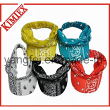 100% Cotton Printed Fashion Peak Visor bandana