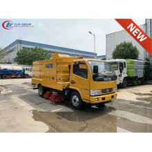 2020 New Dongfeng D6 parking lot cleaning truck