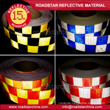 Safety prismatic PVC reflective vinyl stickers for car