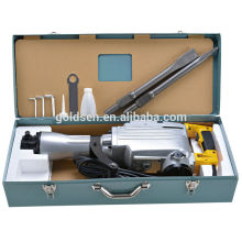 65mm 1520w Mini béton portable à démolition de roche Hammer Jack Hammer Handheld Small Heavy Power Electric Hand Breaker