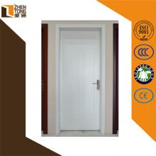 Dobradiça alta avaliação invisível / visível moderna porta mdf, padrões de porta de madeira, portas dobráveis interiores baratos