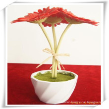 PU Gerbera Simulation Flowers Plant for Decoration