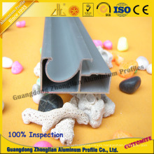 Kitchen Cabinet Handle Aluminum Profile for Color Glass
