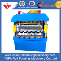 Rusia Desain C18 Atap Panel Roll Forming Machine