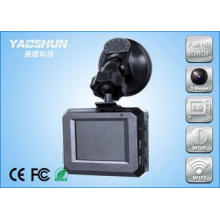 ABS Black Dual Lens Car DVR Recorder Full HD With 2.0 Inch