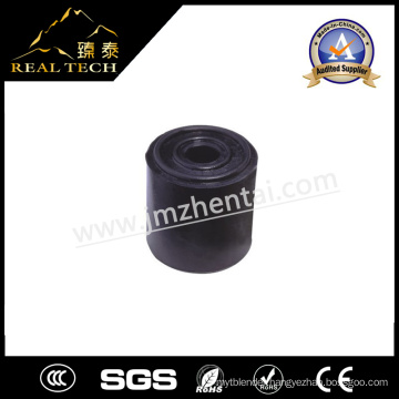 Cylindrical Black Rubber Stopper Rubber Stop