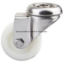Stainless Steel Light Duty Swivel Nylon Caster