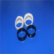 Polished Black White Wearable Zirconia Ceramic Rings