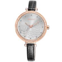 WEIQIN brand W40011 quartz watches bezel ladies watch with small strap