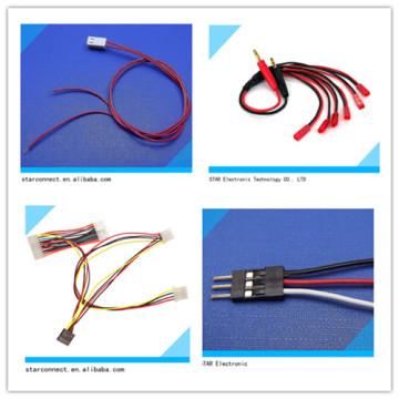 Fabrication de harnais de fil électrique de connecteur Jst de haute qualité
