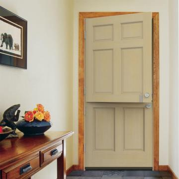Unfinished Hemlock Wood Prehung Front Door