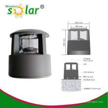 Outdoor-Licht für Gartenbeleuchtung CE Aluminium solar Post; solar Post Licht (JR-CP46)