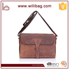 China Factory Best Price Genuine Leather Single Bags Office Handbags Laptop Messenger Bags