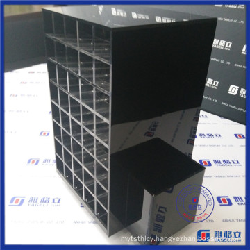 China Wholesale 80 Compartments Acrylic Lipstick Holder Spinning