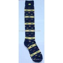 Модные полосатые детские носки