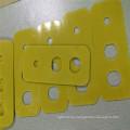 Yellow Epoxy Fiber Glass Plate Machining Parts