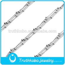Brazaletes religiosos rosarios de plata pulsera brazalete de acero inoxidable bio pulsera magnética brazalete inteligente brazalete