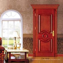 Chêne de porte intérieure commerciale intérieure de porte en bois chêne massif
