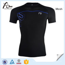 Short Sleeves Compression Shirt Men Fitness Wear