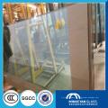vidrio templado claro de seguridad con borde en bisel