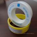 Venta directa de la fábrica 12m m Alta calidad OEM Gas amarillo PTFE Cinta del lazo de la cuerda de rosca