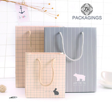 Gift+Paper+Bag+with+Handles+Light+Color