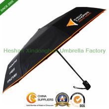 Auto ouvrantes et fermantes trois pli, parapluie publicitaire (FU-3821BAF)