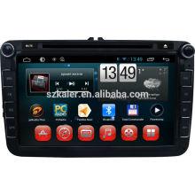 Четырехъядерный Android ,емкостный сенсорный экран Android автомобильный DVD-плеер с WiFi или 3G для Volkswagen