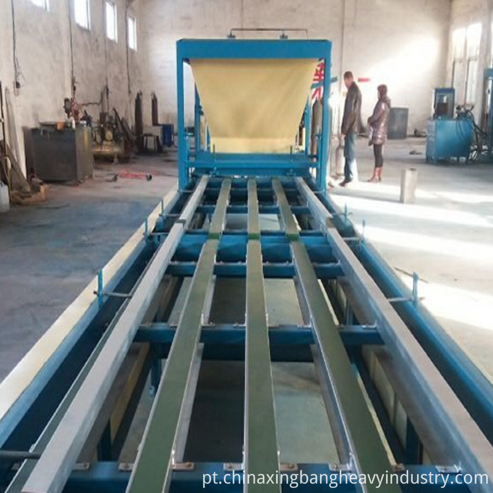 Door core board machine line