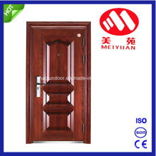 Security Iron Door with Door Handle, Lock