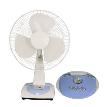 12 Inch DC Rechargeable Battery Table Fan