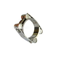 Braçadeiras hidráulicas da tubulação / braçadeira de mangueira contínua da porca dos parafusos do dobro / braçadeiras hidráulicas do tubo