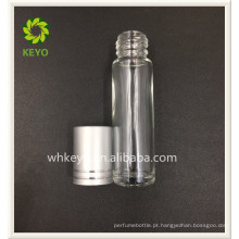 5ml 8ml melhor vendendo claro colorido vazio perfume cosmético rolo de vidro na garrafa