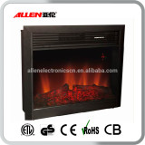 Best Sell LED 220v-240v Electric Fireplace Insert Heater with Elegant Flame Effect