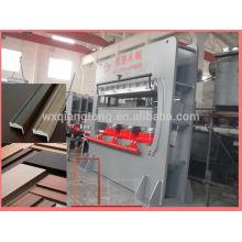 Moules mdf press machine / moules en mélamine machine à presser à chaud