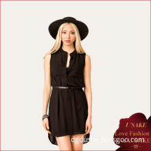 Sexy Short Front Long Back Casual Dress (S30240)