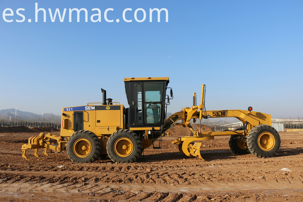 Mini Motor Grader With Rear Ripper