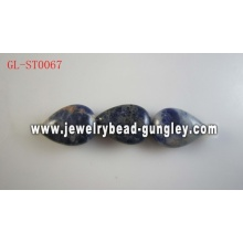 Genuine Gemstone Sodalite beads