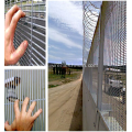 High density metal security fence