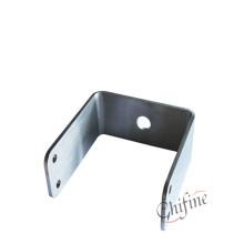White Zinc Metal Stamping Parts Bracket
