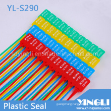 Plastic Container Seals with Logo and Serial Number